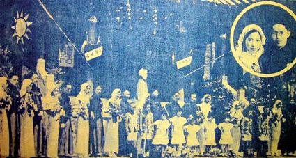 """老照片记录最早集体婚礼南京""""第一对""""如今在哪里"""