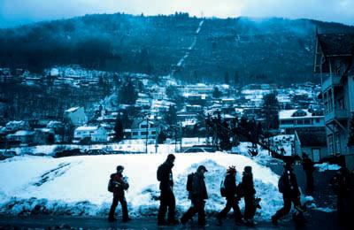天生滑雪狂