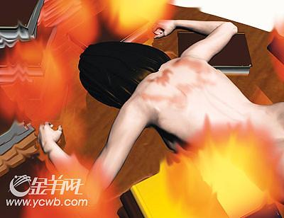女博士生嘴角流血左臂烧伤死于教学楼(组图)