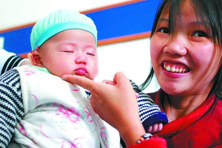 癌症孕妇放弃治疗冒死产下健康女婴(图)