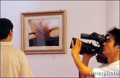 前卫图片艺术展引发争议图