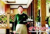 高考状元为赚学费在咖啡厅当女招待(图)