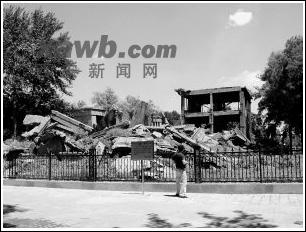 地震遗址述今昔(图)