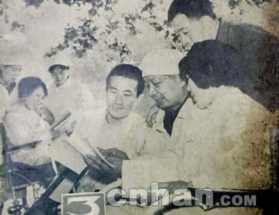 唐山大地震伤员30年后回汉谢恩(组图)