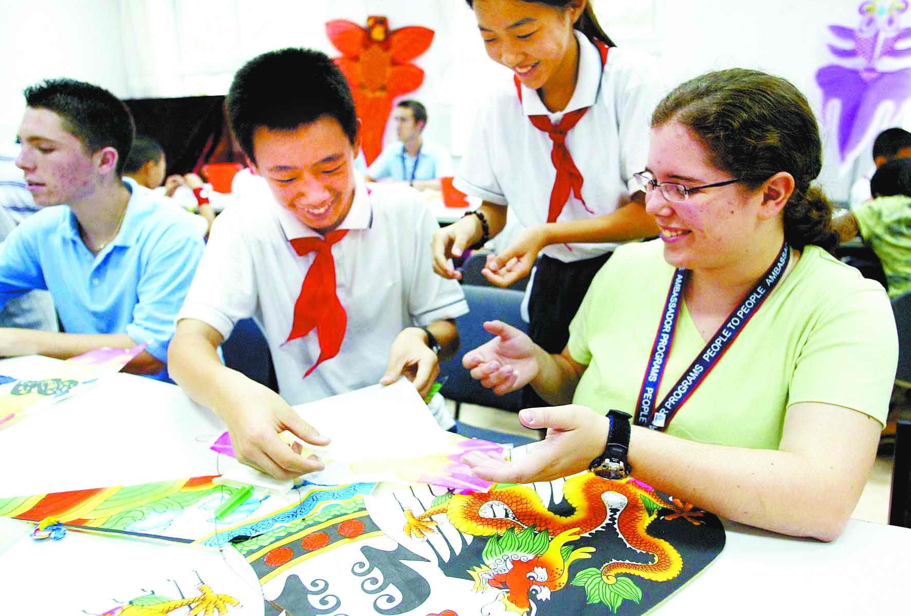 中国高中生学美国手工艺(图)蜕变作文800字作文高中图片