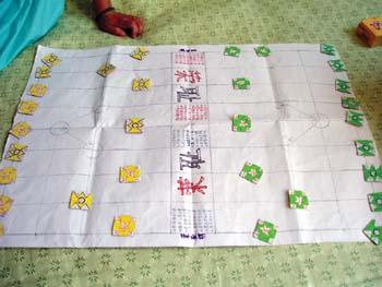 """8岁小学生巧做""""文字游戏""""(图)图片"""