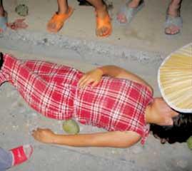 北京联防队员被指殴伤外地卖瓜孕妇(图)