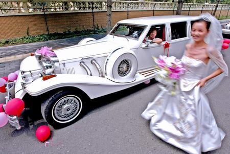 图文:天价婚车