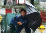 """图文:台风""""麦莎""""袭击安徽"""