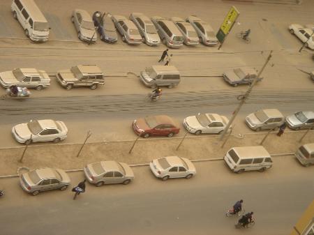 图文:北京遭遇下沙天