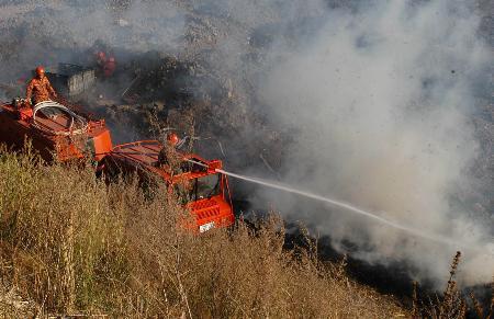 内蒙古大兴安岭发生火灾 3