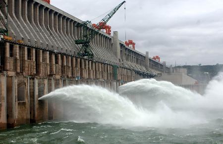 图文:长江三峡进入主汛期