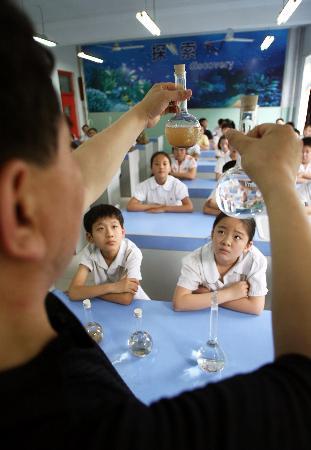 图文:(1)环保宣传教育进校园