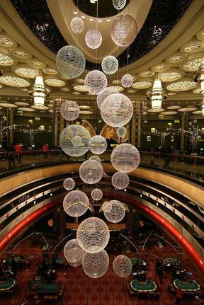 组图:澳门新葡京赌场正式对外开放营业
