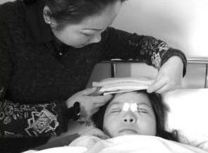 17岁女孩欲整容成李湘续:手术非常成功(图)
