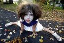 美国小丑庆祝万圣节