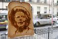 伦敦面包片艺术展