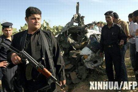 组图:以军发射导弹袭击哈马斯武装人员