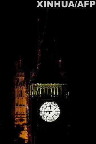 """伦敦发生重大停电事故 8月28日,英国伦敦著名的""""大本钟""""失去了往"""