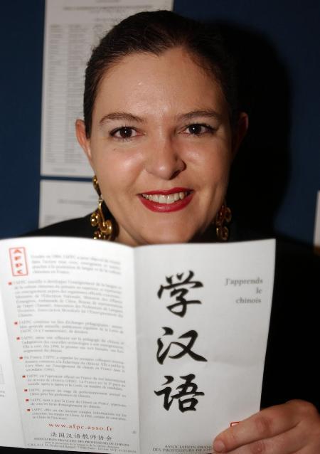 图文:法国人学汉语热(2)