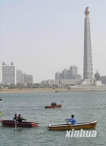 组图:让镜头带你走进春天里的朝鲜首都平壤