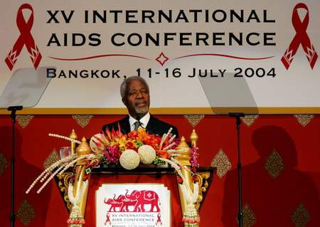 第15届世界艾滋病大会在泰国曼谷开幕(附图)