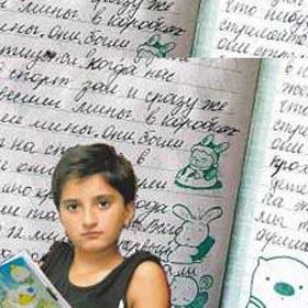 俄小女孩用日记记录在学校被劫为人质经历(图)