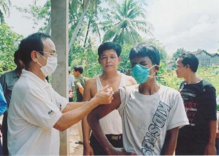 组图:柬埔寨又发生禽流感疫情