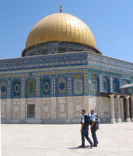 图文:耶路撒冷的阿克萨清真寺(2)