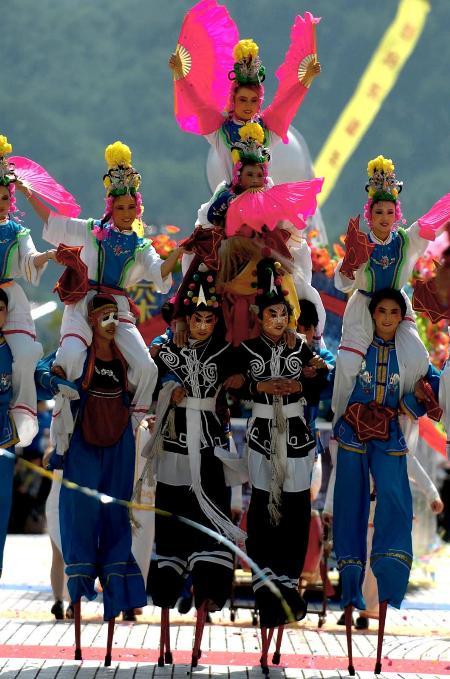 图文:中国国际民间艺术节开幕(3)