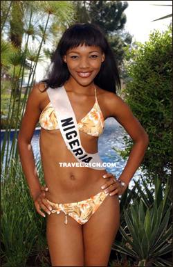 在尼日利亚的美女身上得到了最好的