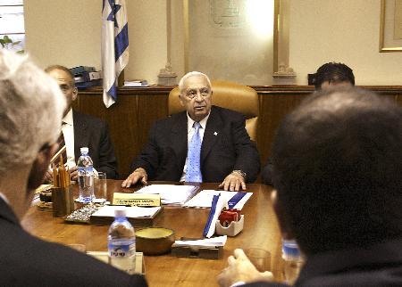 以色列内阁通过单边行动计划撤离赔偿法案