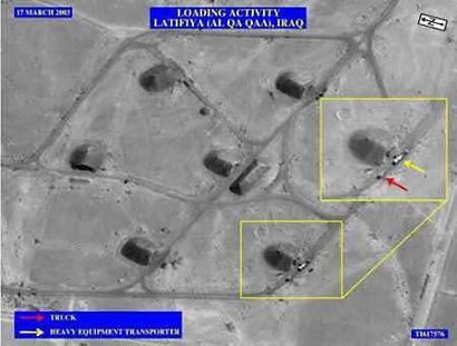 美国五角大楼承认美军曾运走过伊拉克失踪炸药