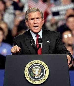 布什克里对最新拉登录像带作反应