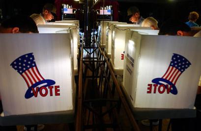 组图:美国历史上竞争最为激烈的总统大选