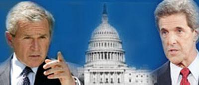 美国大选日白宫幕后戏:布什熬过漫长24小时