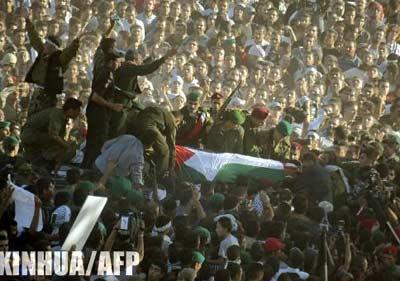 巴勒斯坦高官要求对阿拉法特真实死因进行调查
