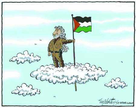 布什连任后首个外交目标:09年前巴勒斯坦建国