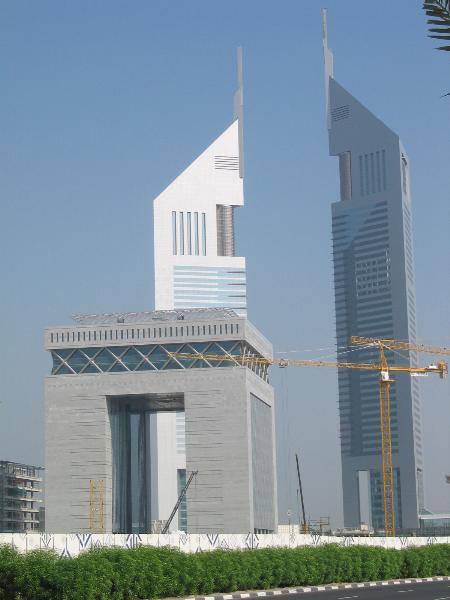 图文:迪拜国际金融中心