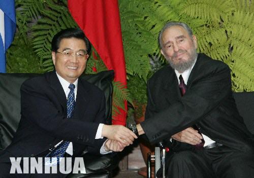 卡斯特罗表示古巴钦佩传奇和革命的中国(组图)