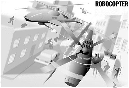 美研发智能无人战斗直升机预计2012年投入使用