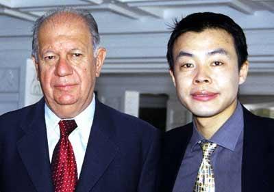 智利总统拉戈斯接受香港财经文摘杂志专访(图)