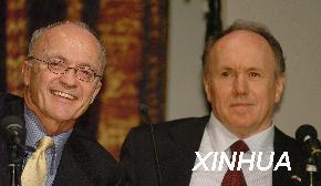 诺贝尔奖得主齐聚瑞典2004诺贝尔周拉开帷幕