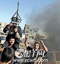 伊拉克平民重返费卢杰返城前要留下指纹(图)