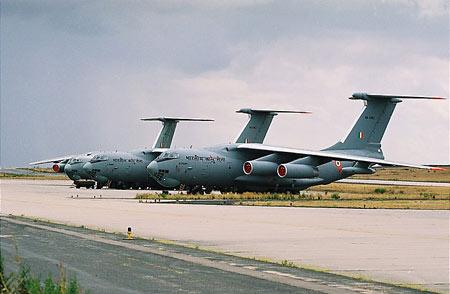 印度空军接收第6架伊尔-78MK空中加油机(组图)