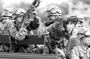 日美对朝作战计划曝光自卫队要在5方面参战