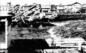 历史上最大的海啸―1960年智利地震海啸(图)