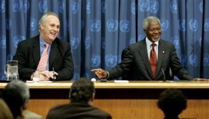 安南任命新办公厅主任联合国高层改组拉开序幕