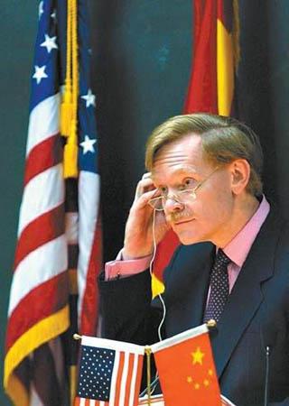 美国贸易代表佐立克出任赖斯副手(图)