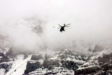 阿富汗证实坠毁客机上104人全部遇难(组图)